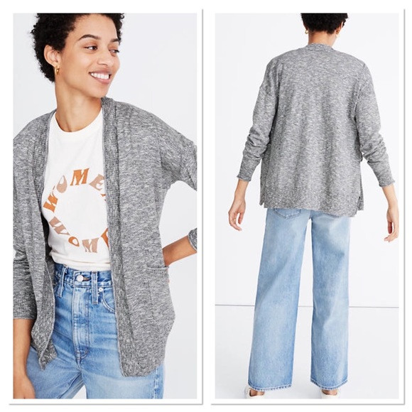 NWT Madewell Marled Bradley Cardigan Sweater XS
